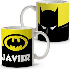 Taza personalizada de Batman - Las mejores tazas de Batman - Tazas de DC