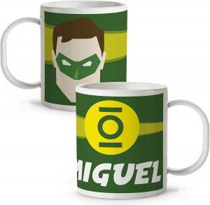 Taza personalizada de Linterna Verde - Las mejores tazas de Green Lantern - Tazas de DC