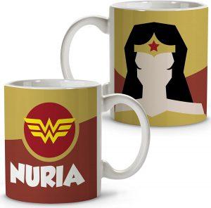 Taza personalizada de Wonder Woman - Las mejores tazas de Wonder Woman - Tazas de DC