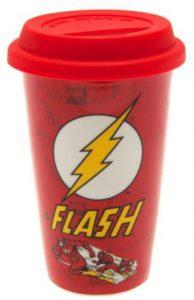 Vaso de logo clásico de Flash - Las mejores tazas de Flash - Tazas de DC