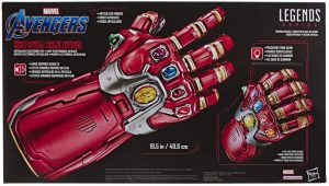 Guantelete del Infinito electrónico de Marvel Legends Series de Hasbro - Los mejores guanteletes del infinito de Iron man