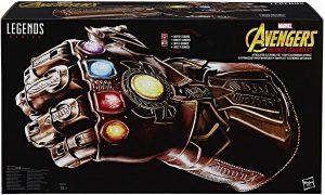 Guantelete del Infinito electrónico de Marvel Legends Series de Hasbro - Los mejores guanteletes del infinito de Thanos