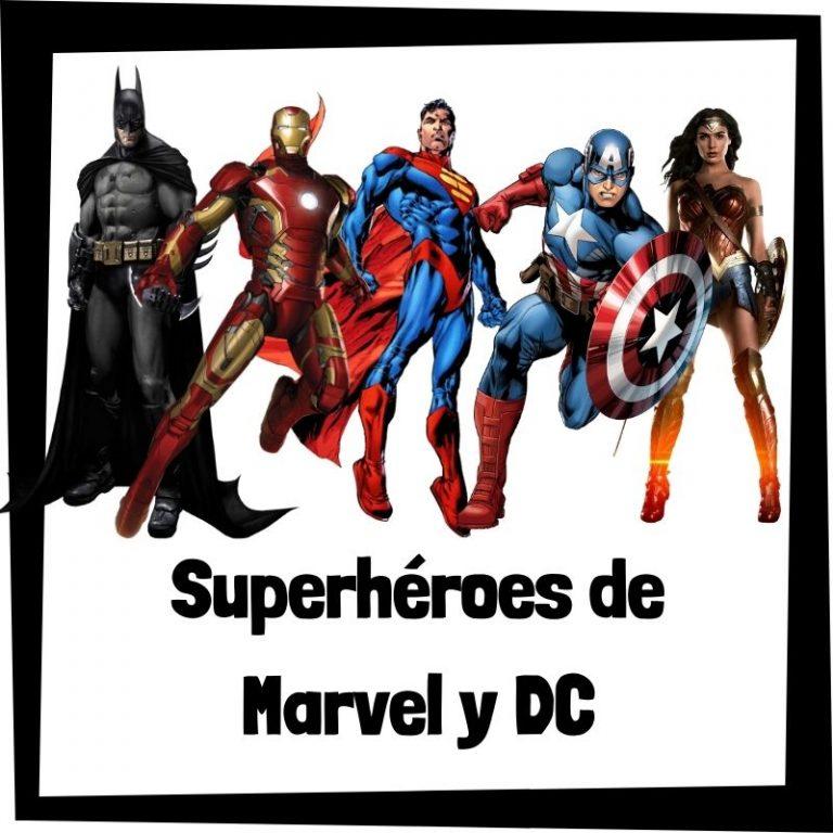 Lee más sobre el artículo Superhéroes de Marvel y DC